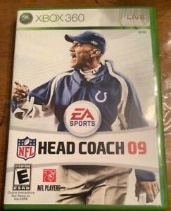 NFL Head Coach 09 (Microsoft Xbox 360, 2008)