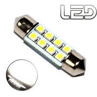 1 Ampoule navette c3w 31 mm 31mm 8 LED SMD Blanc Habitacle Plafonnier coffre ...