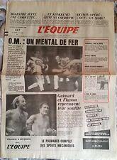 L'Equipe Journal 19/12/1986; Balestre/ Kankkunen/ Quinon opéré/ Renard/ Roncoli