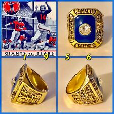 "New York (""Football Giants"") 1956 Championship Ring Size 11"