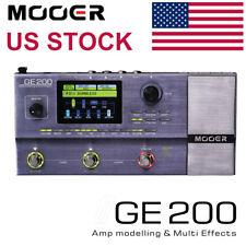 Mooer GE200 Electric Guitar Multi Effects Processor Pedal Board US Stock