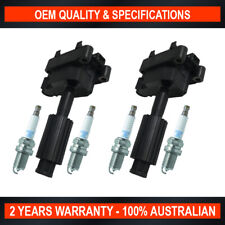2x OEM Quality Ignition Coil & 4x NGK Spark Plugs for Ford Transit VH VJ 2.3L