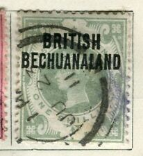 BECHUANALAND; 1891 early QV issue fine used 1s. value