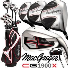 """ 50% OFF"" MacGregor cg-1900 alto lancio Da Uomo Completo Golf Set & Deluxe Cart Bag"