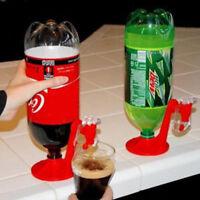 2pcs Magic Upside Down Soda Bottle Coke Drinking Dispenser Saver Water Tap Tool