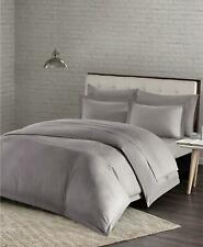 Jla Home Urban Habitat Comfort Wash Cotton 3 Piece King Duvet Cover Set Grey