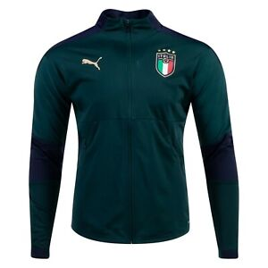 2019/20 PUMA Italy Italia National Team Training Jacket Mens Size XL Green