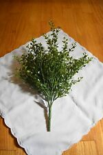 """NEW PRIMITIVE COUNTRY PEPPERGRASS SPRAY MED. GREEN 14"""" HOME DECOR"""