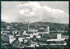 Arezzo Sansepolcro Stabilimenti Buitoni Foto FG cartolina KF1845