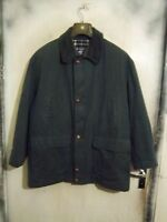 VINTAGE MEN'S BURBERRY'S TRENCH COAT JACKET SIZE XXL LEATHER BUTTONS