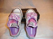 N/W/B Converse All Star Ash Gray/Pow Sneakers Size Junior   U.S 11.5
