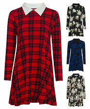 Unbranded Long Sleeve Casual Floral Dresses for Women