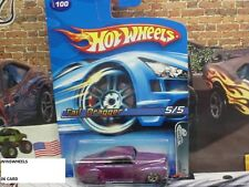 HOT WHEELS 2005 #100 -2 TAIL DRAGGER PURP 5SP REDLINES MAL 06CA