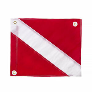"IST 14"" x 18"" Traditional Diver Down Flag, Small Size"