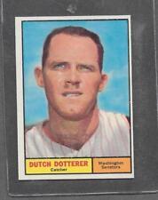 1961 Topps Baseball #332 Dutch Dotterer EX-MT+ *5575