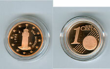 manueduc    1 Céntimo  De ESTUCHE  SAN MARINO 2008  PROOF   NUEVO