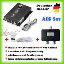 AIS SET: Class B Transponder+ Antennensplitter+ GPS Antenne+ MMSI Programmierung