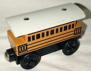 Thomas And Friends Wooden Railway Henrietta Tramway Coach Magnetic