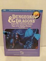 M2 SOLO MAZE OF THE RIDDLING MINOTAUR DUNGEONS & DRAGONS TSR 9060
