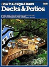 How to Design and Build Decks and Patios (1979 Ortho Paperback) HH1972