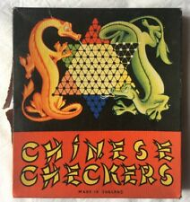 VINTAGE CHAD VALLEY CHINESE CHECKERS  MADE IN ENGLAND