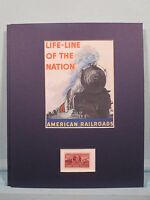 American Railroads - The Life Line of the Nation & the Casey Jones stamp