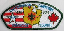 World Brotherhood Camporee 2014 Longhouse SA-122 Staff CSP  BSA  BSC