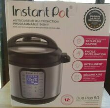 Instant Pot Duo Plus 60 9 In 1 Multi-Use Programmable Pressure Cooker Used Once