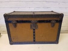 Antique Wooden Doll Trunk Toy Chest