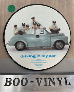 "Madness Driving In My Car 7"" VINYL 45 Picture Pic Disc Ska  EX+ Con"