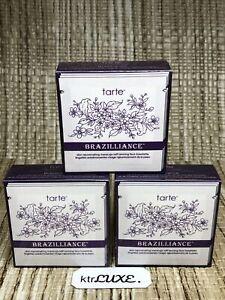 9X Tarte BRAZILLIANCE Rejuvenating Self Tanning Face Towelette NEW SEALED