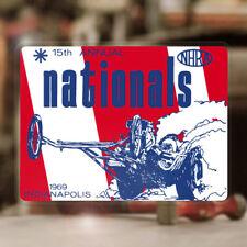 NHRA Nationals 1969 Indianapolis Aufkleber Sticker Hemi Dragracing Hot Rod
