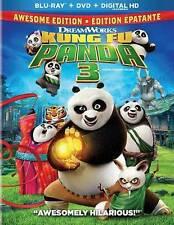 KUNG FU PANDA 3 (Blu-ray/DVD, 2016, Canadian) New / Sealed / Free Shipping