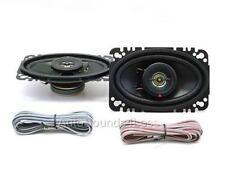 "Kenwood KFC-4675C 120 Watts 4"" x 6"" Coaxial 2-Way Car Audio Speakers 4""x6"" New"