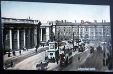 UK~IRELAND ~ 1900's COLLEGE GREEN  DUBLIN  ~ Double Decker Buses