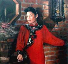 Photograpy PORTRAIT SERVICE Oil Painting 1 Person 30x36 Commission Art Work