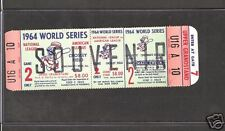 1964 WORLD SERIES FULL PHANTOM TICKET SEE SCAN SHARP