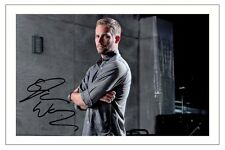 PAUL WALKER SIGNED AUTOGRAPH PHOTO PRINT FAST AND FURIOUS 1 2 3 4 5 6