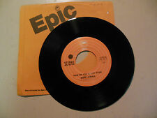 BOB LUMAN How Do You Start Over / Shame On Me  EPIC  RECORDS   NEW 45