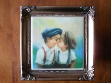 """Donald Zolan """"two of a kind"""" Framed tile no.1011A"""