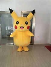Adult Pokemon Go Pikachu Mascot Costume Halloween cosplay party game dress gift