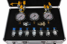 Hydraulic Pressure Gauge Diagnostic Test Kit For Caterpillar Komatsu Excavator