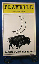 """Playbills 1990'S """"MOON OVER BUFFALO"""" for The Martin Beck February 1996 L@@K!!"""