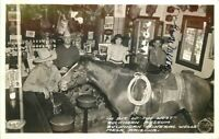 Buckhorn Museum Mineral Wells Mesa Arizona 1940s RPPC Postcard Frasher 5967