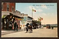 1906 Tia Juana Mexico Worcester Massachusetts Race Track Picture Postcard Cover