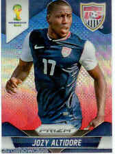 2014 World Cup Prizm Blue Red Wave Parallel Card No.71 J.Altidore (USA)