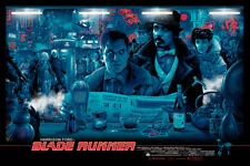 BLADE RUNNER rare limited edition movie poster screen print *SOLD OUT*
