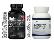 Totally Fresh Male Extra + NeoSize XL, Best Male Enhancement Dietary Supplements