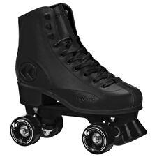 Roller Derby Elite U772BL-09 Reewind Mens Roller Skate Black - Size 9