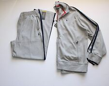 Polo Ralph Lauren Full Zip Track Jacket and Pant Set in Size XXL in Grey